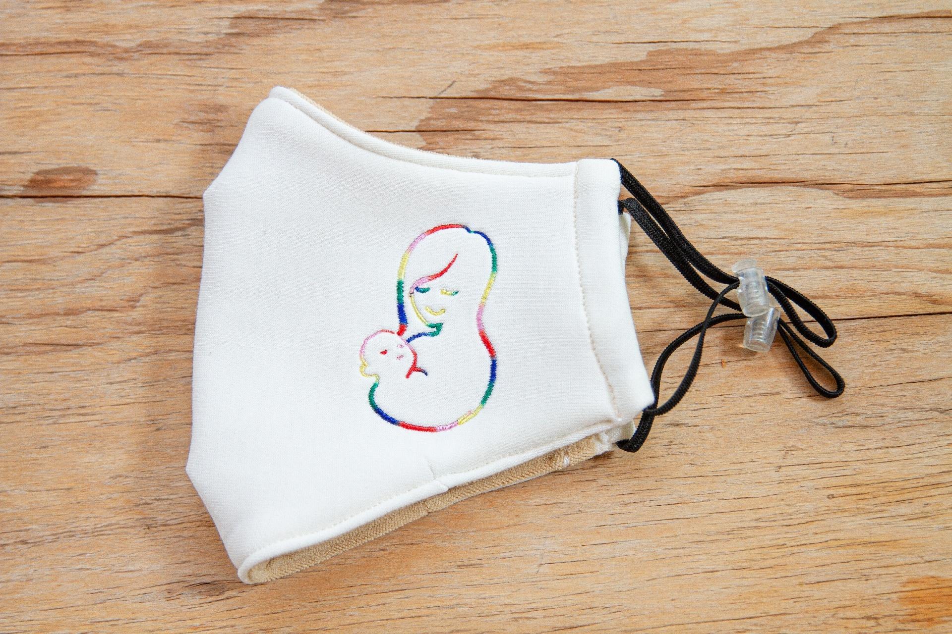 好孕美膚纖維布口罩